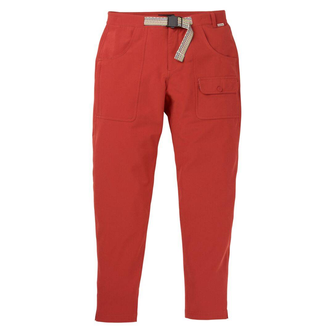 burton Pantalon Burton Stretch Chaseview Rouge Femme