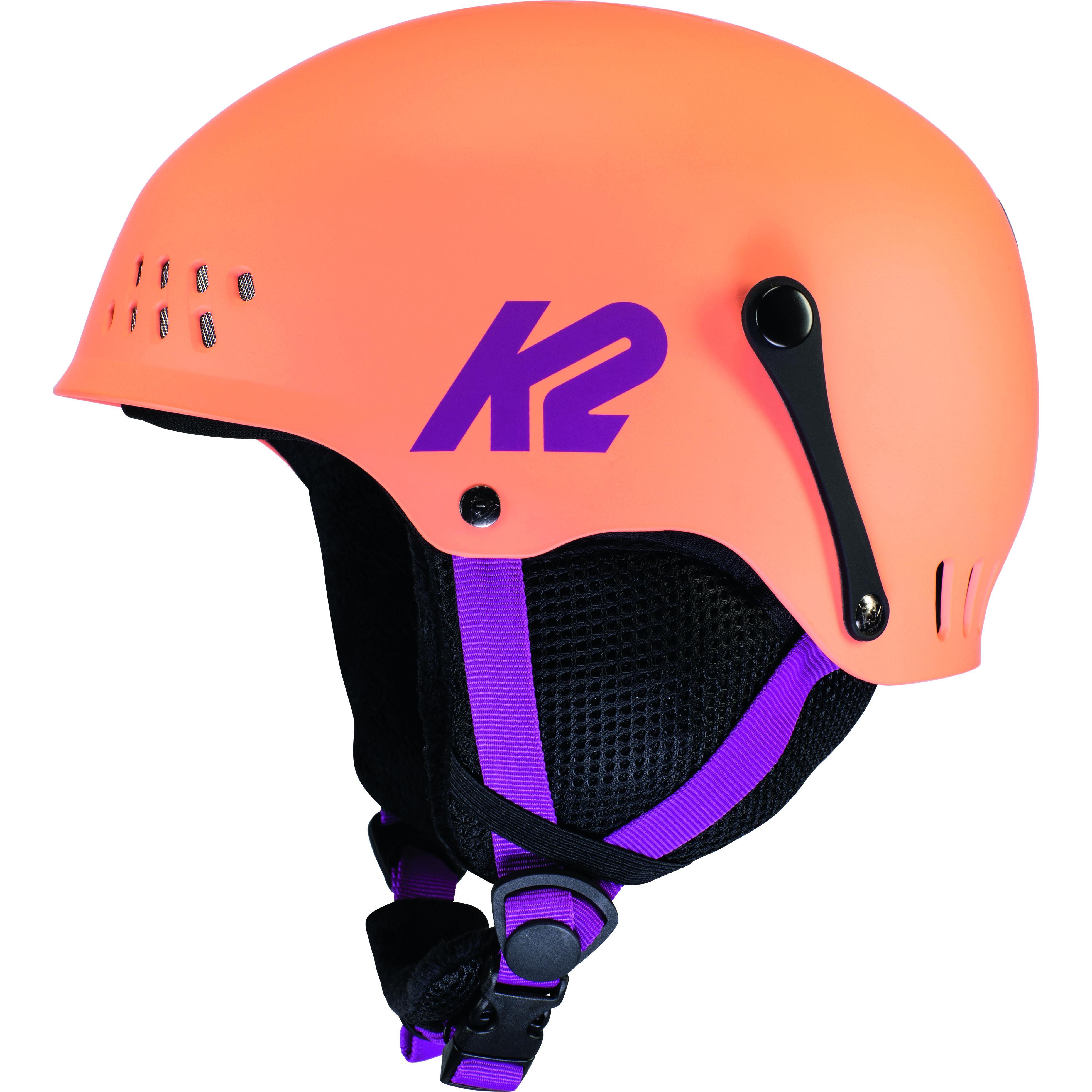 k2 Casque De Ski/snow K2 Entity Coral Fille