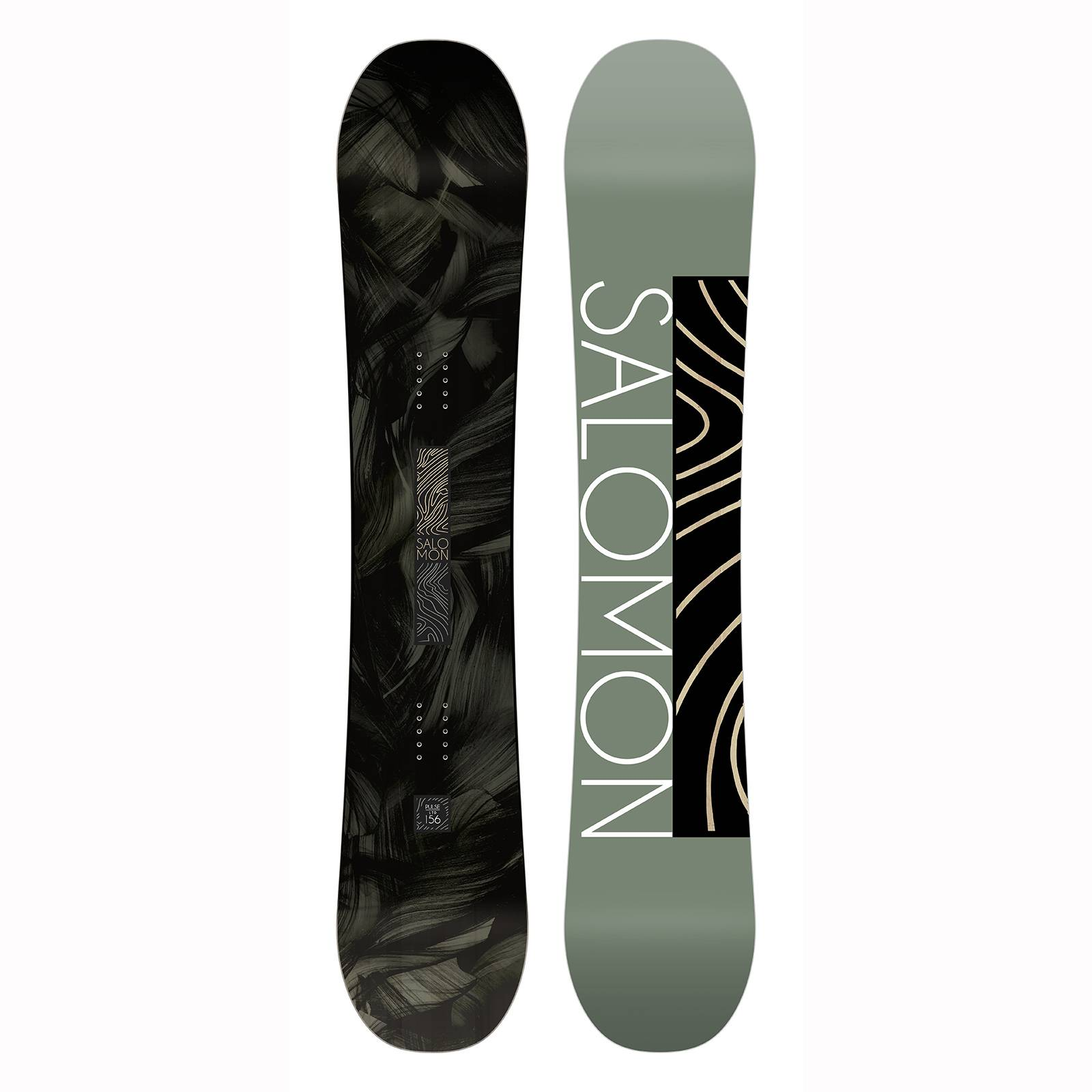 salomon Pack De Snowboard Salomon Pulse Ltd+rhythm Oil Green Homme