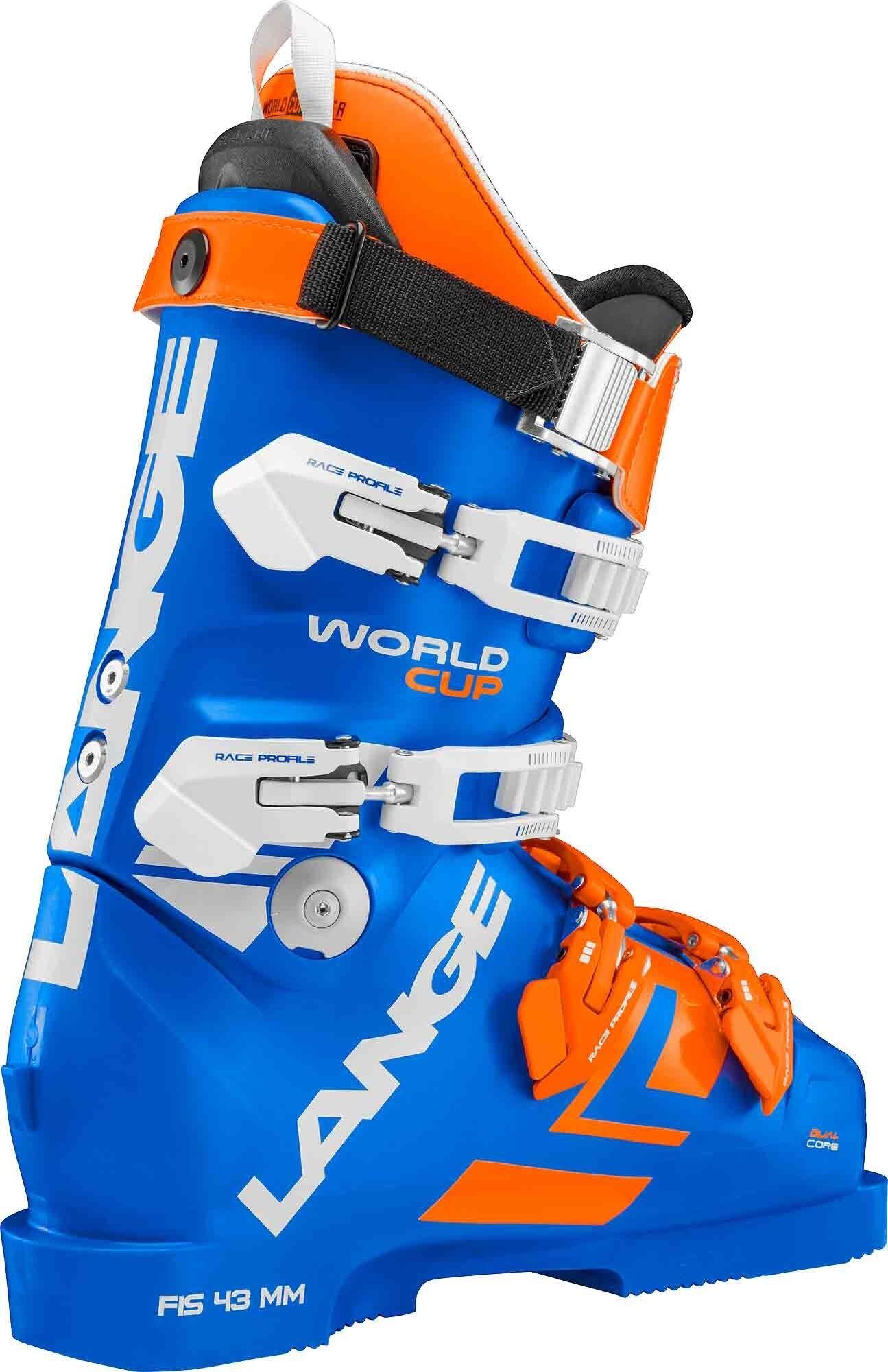 lange Chaussures De Ski Lange World Cup Rs Za+ (power Blue) Homme