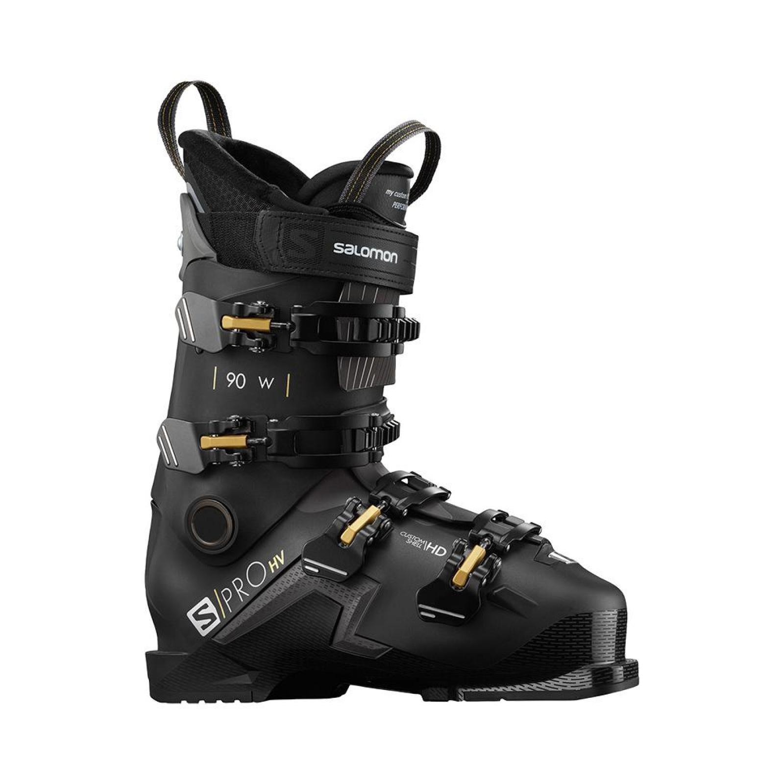 salomon Chaussures De Ski Salomon S/pro Hv 90 W Black/be Femme