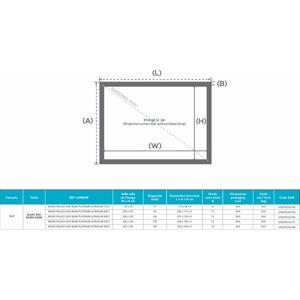 LUMENE MOVIE PALACE UHD 4K/8K Platinum Ultra Slim 200C (16:9) - Publicité