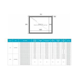 LUMENE MOVIE PALACE UHD 4K Acoustic 350C (16:9) - Publicité