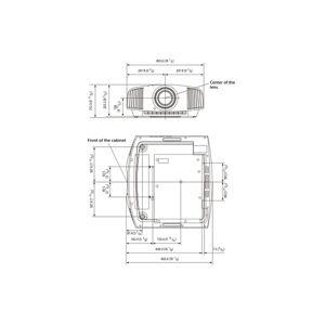 Sony Vidéoprojecteur Sony Vpl-vw590es Blanc - Publicité