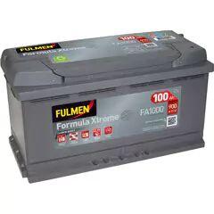 FULMEN Batterie de démarrage 100ah / 900A BMW X5, MERCEDES-BENZ CLASSE M, AUDI Q7, CITROEN C6, BMW Série 3 (FA1000)