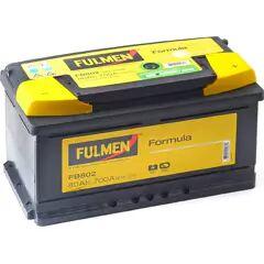 FULMEN Batterie de démarrage 80ah / 700A FORD TRANSIT, OPEL INSIGNIA, BMW Série 3, PORSCHE 911, VOLVO V70 (FB802)
