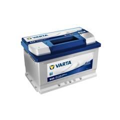 VARTA Batterie de démarrage 72 Ah / 680 A OPEL CORSA, RENAULT LAGUNA, FORD TRANSIT, RENAULT CLIO, OPEL ASTRA (5724090683132)