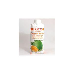 Asia Marché Eau de coco à la Mangue 33cl Foco - Publicité