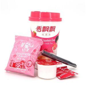 Asia Marché Thé au lait saveur Fraise 80g Xiang Piao Piao - Publicité