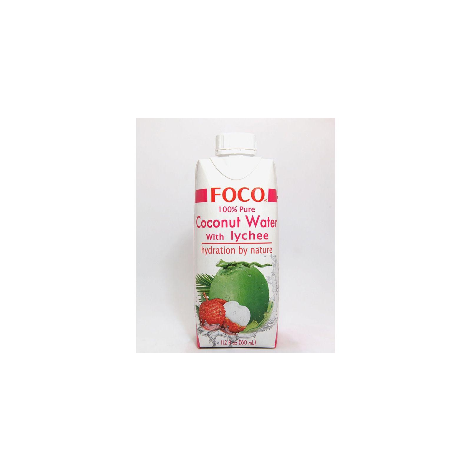 Asia Marché Eau de coco au Lychee 33cl Foco