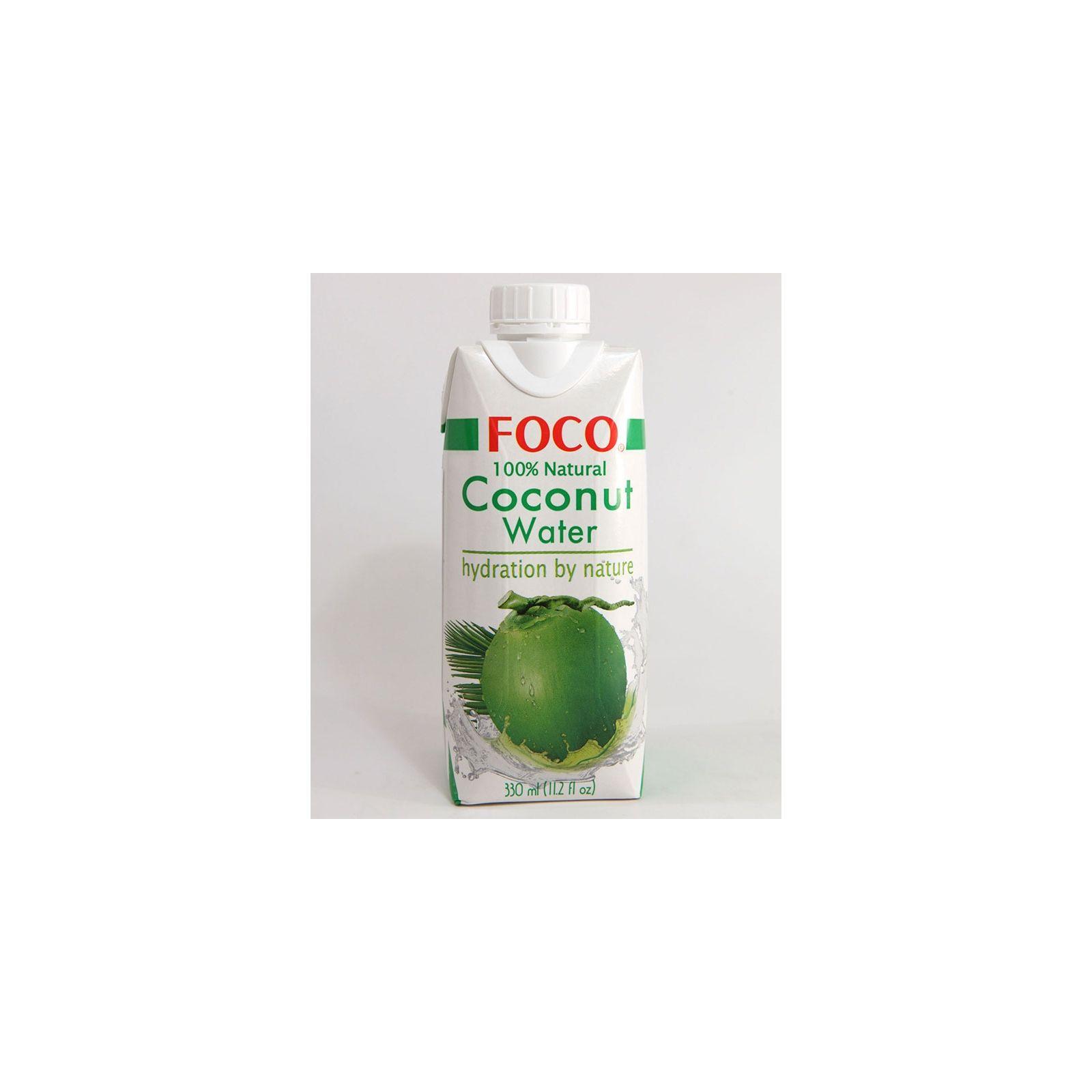 Asia Marché Eau de coco 100% Foco 33cl