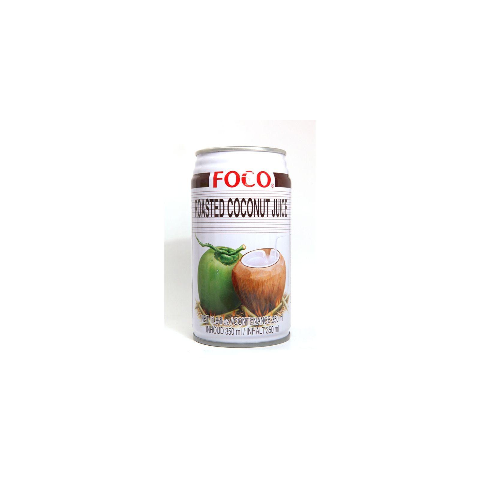 Asia Marché Jus de coco grillé Foco 33cl ou 50cl 33cl
