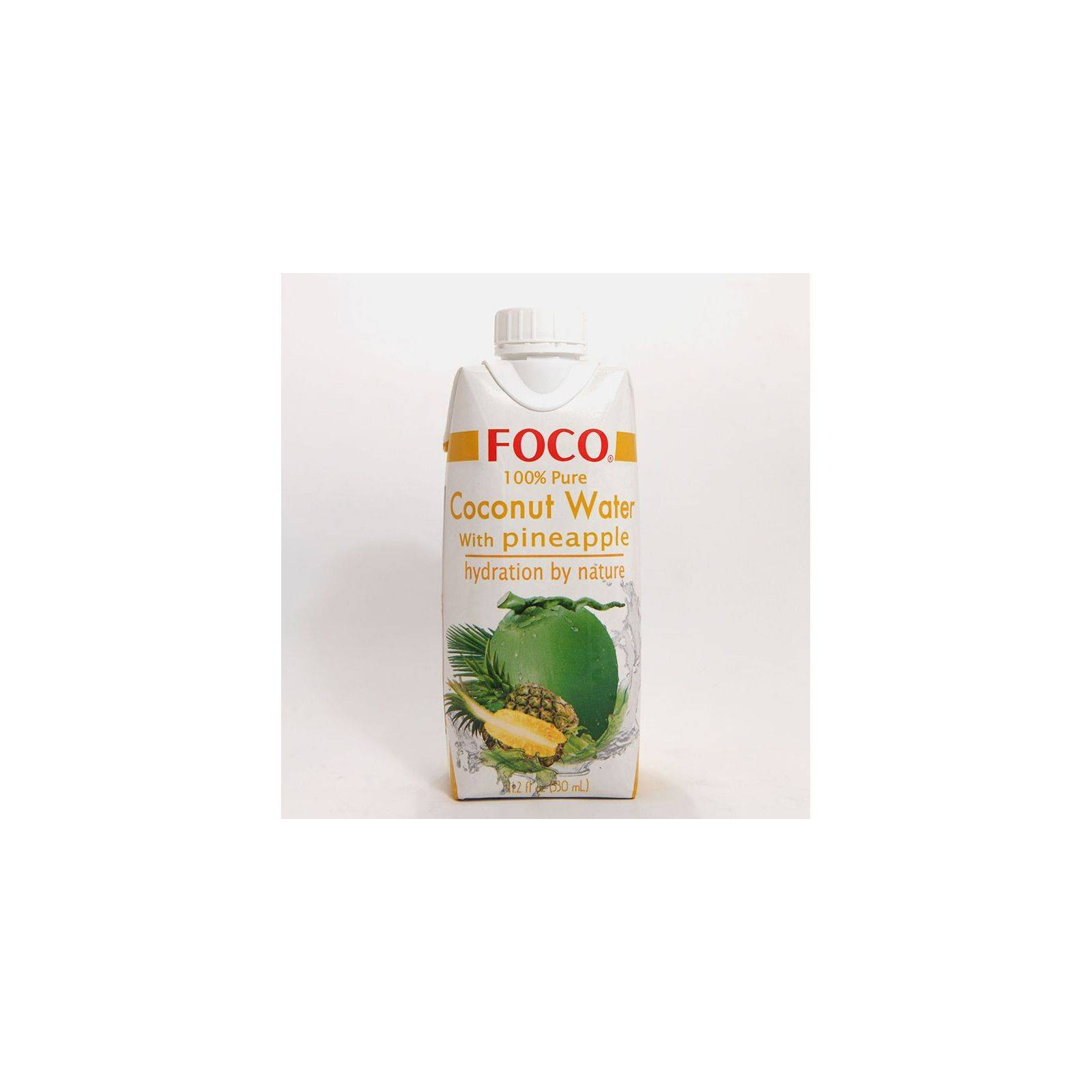 Asia Marché Eau de coco à l'Ananas 33cl Foco