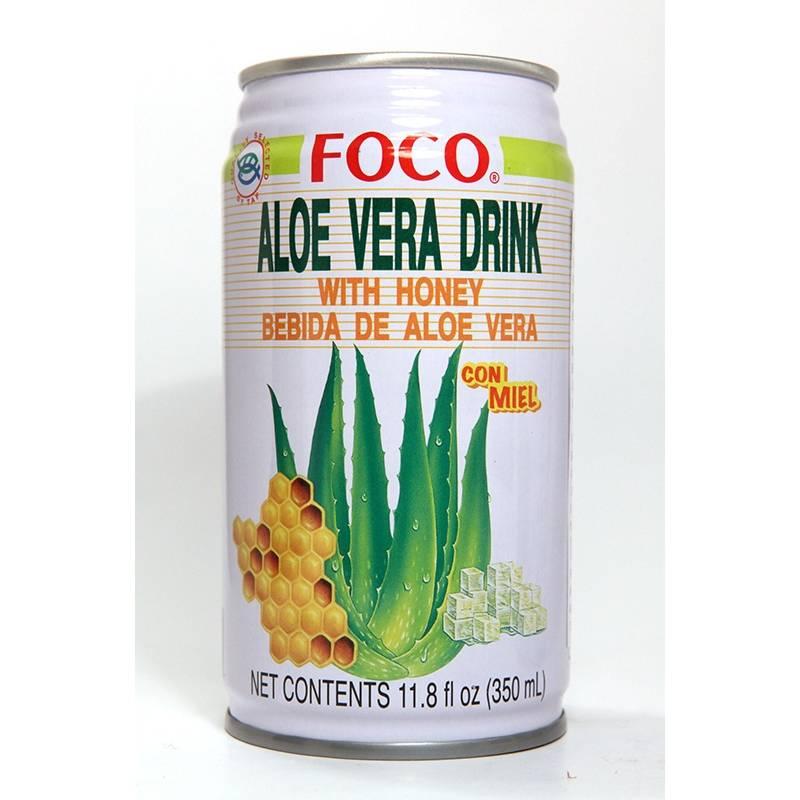 Asia Marché Boisson au Jus d'Aloé Vera / miel 33cl Foco