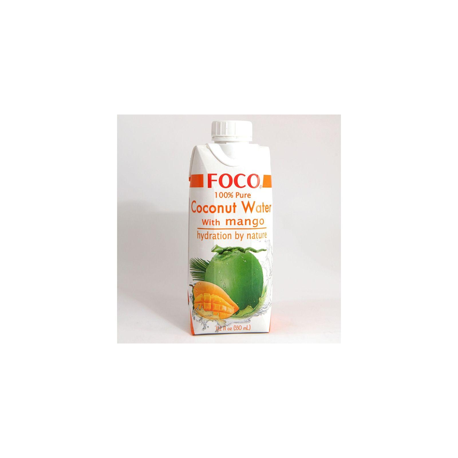 Asia Marché Eau de coco à la Mangue 33cl Foco