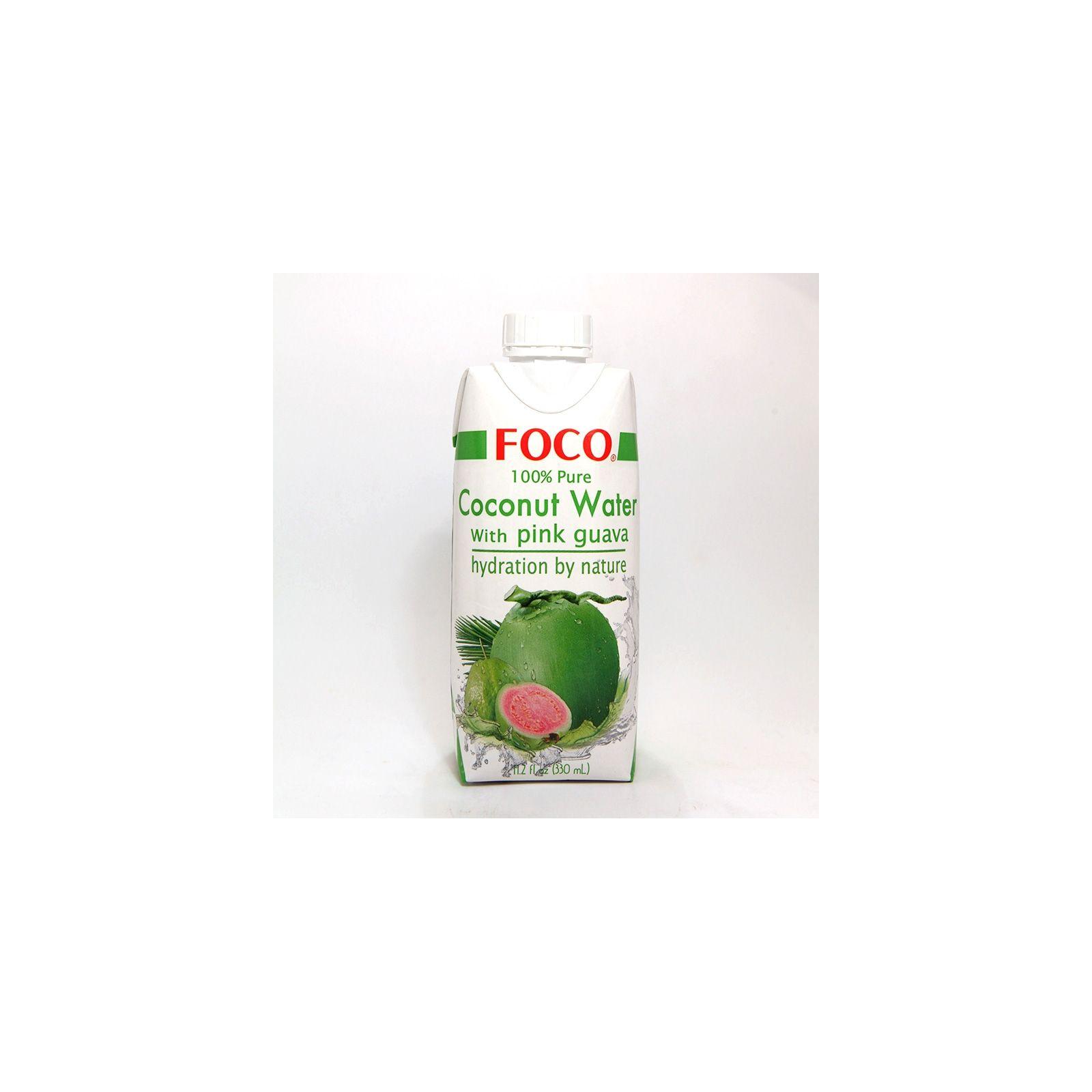 Asia Marché Eau de coco à la Goyave 33cl Foco