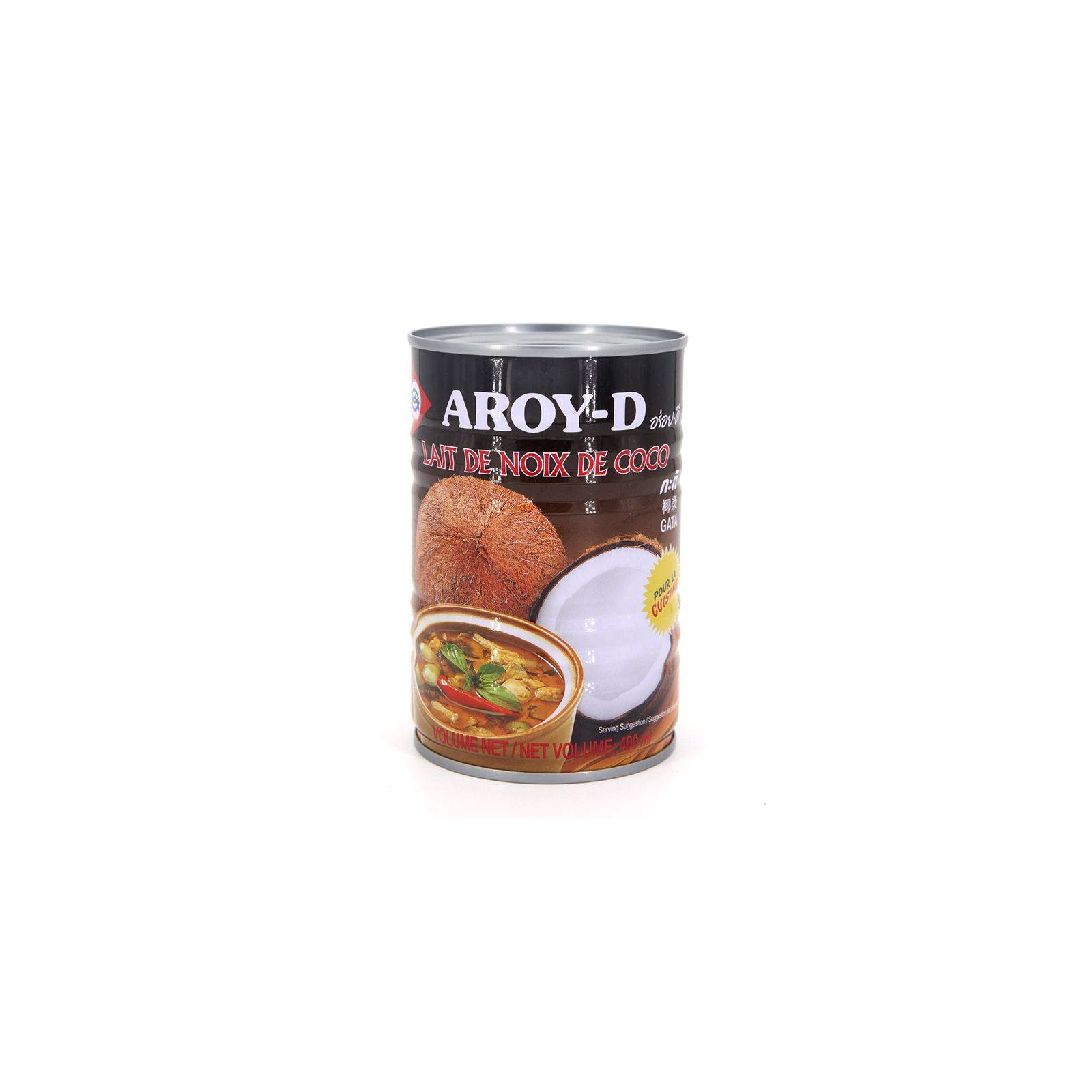 Asia Marché Lait de coco Cuisine 400ml Aroy-D