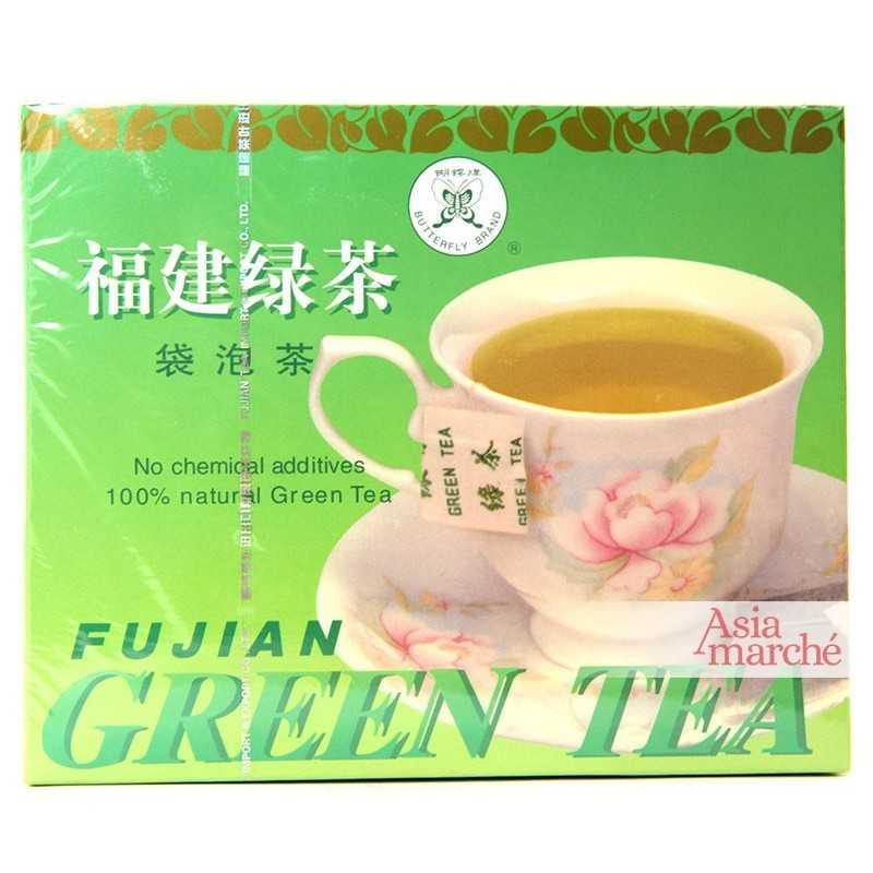Asia Marché Thé vert 20 sachet Fujian