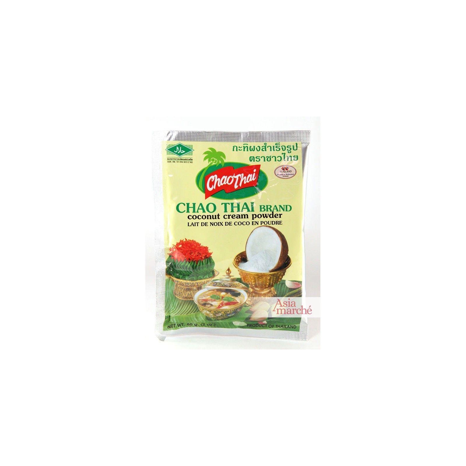 Asia Marché Lait de coco en poudre 60g Chao Thai