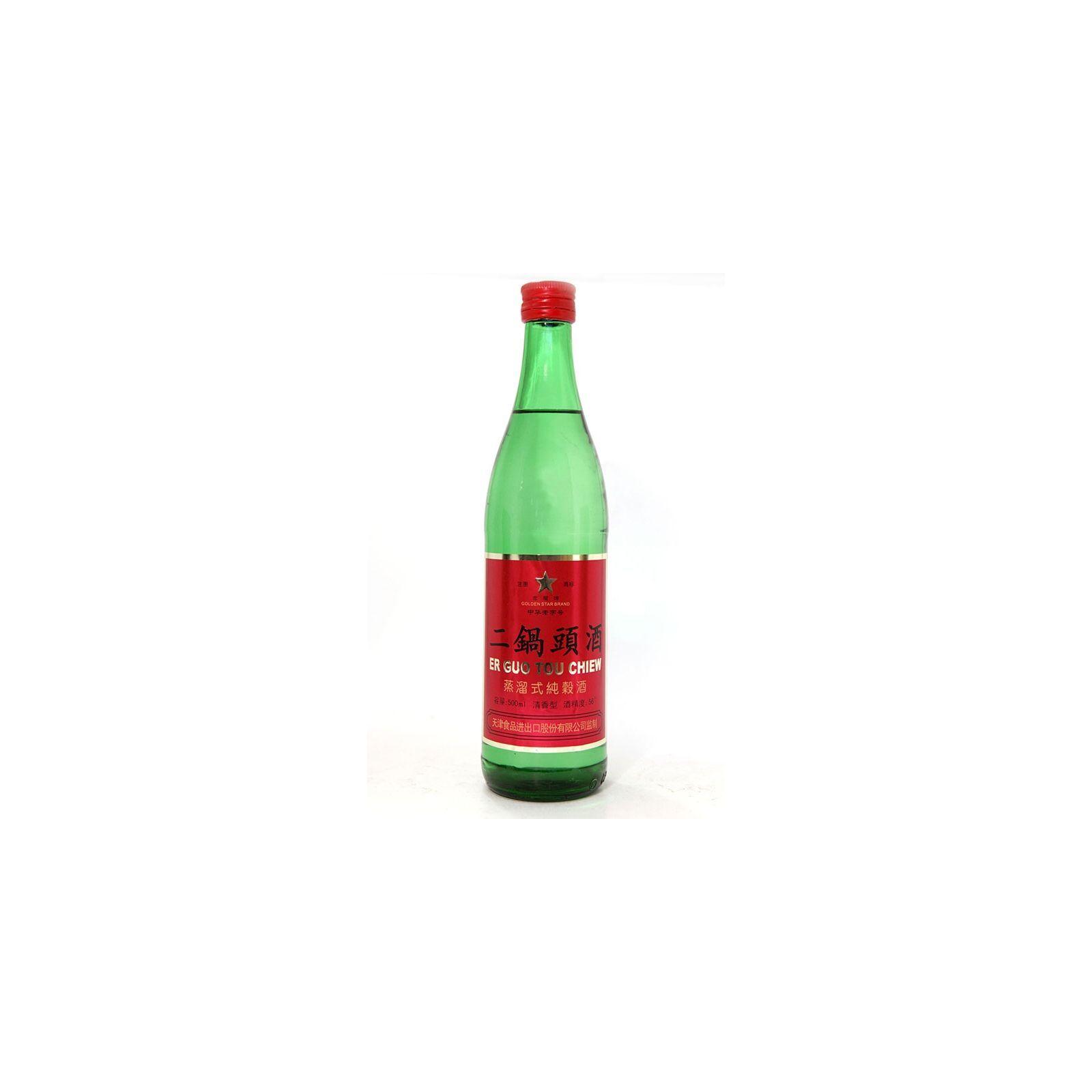 Asia Marché Alcool de Sorgho,  二鍋頭 50cl (56°)