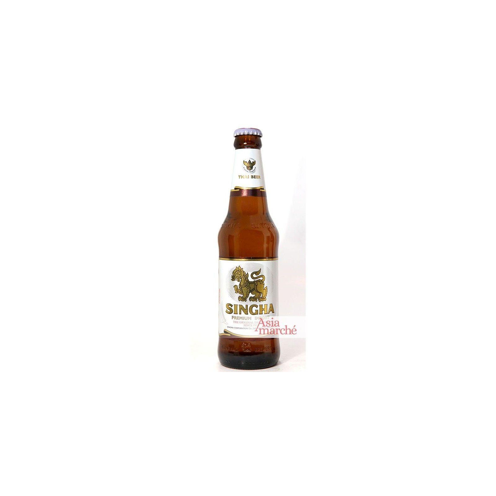 Asia Marché Bière Thaïlandaise Singha 33cl bouteille (5°)