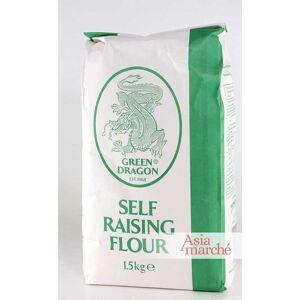 Asia Marché Farine avec levure incorporée 1,5kg Green Dragon ou Golden Orchid - Publicité