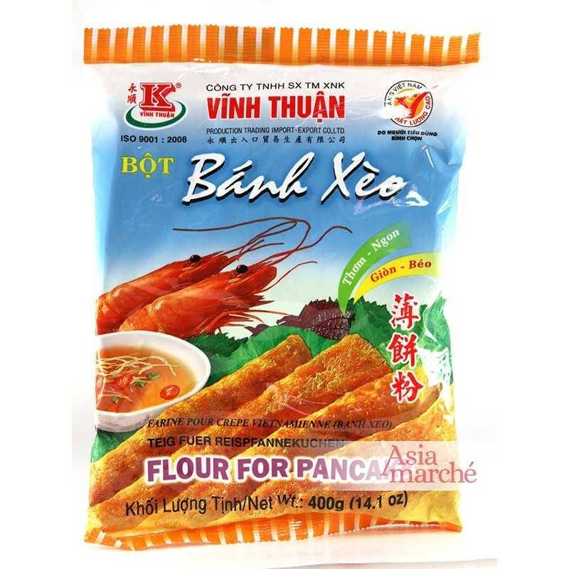 Asia Marché Farine pour Banh Xeo 400g