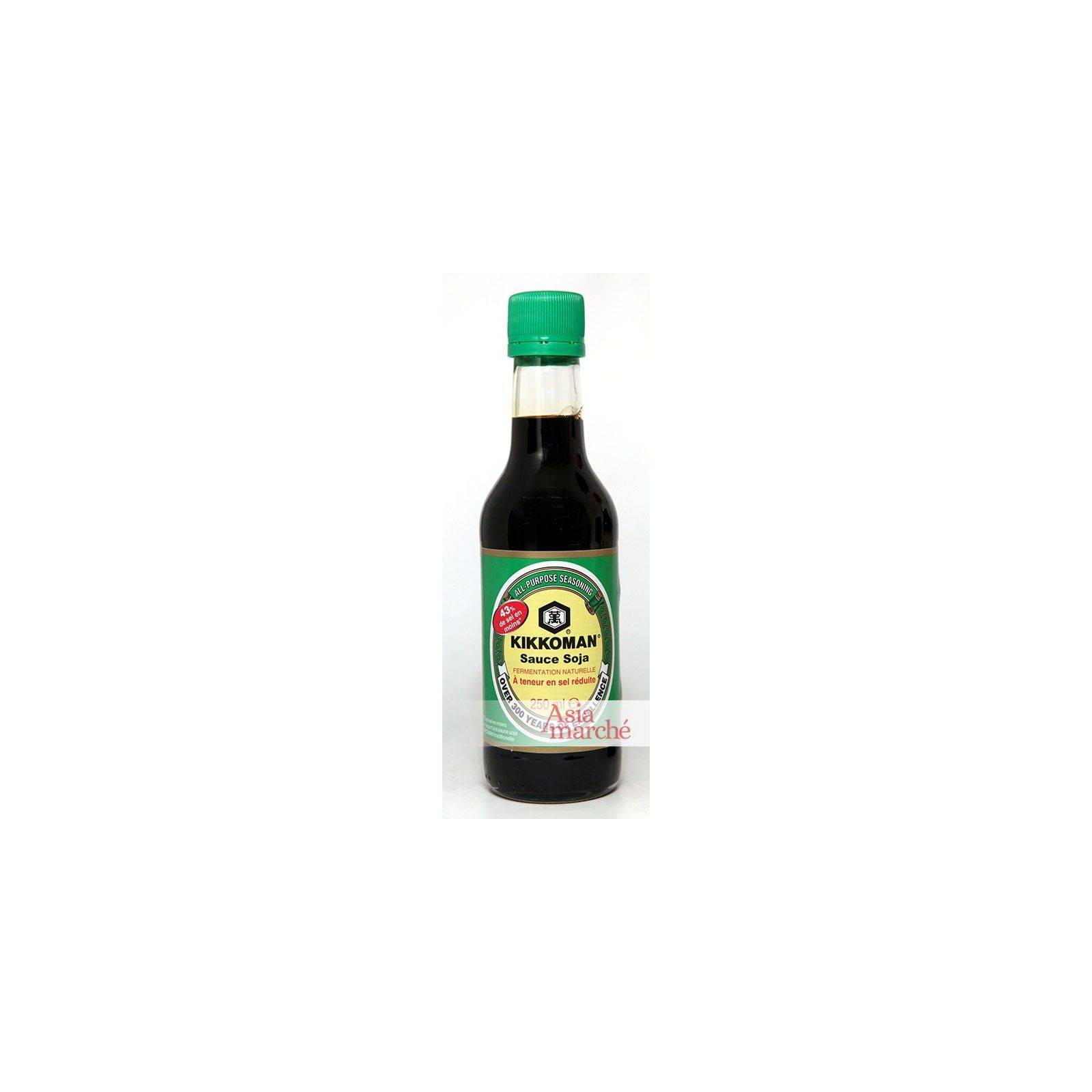 Asia Marché Sauce soja pauvre en sel Kikkoman 250ml