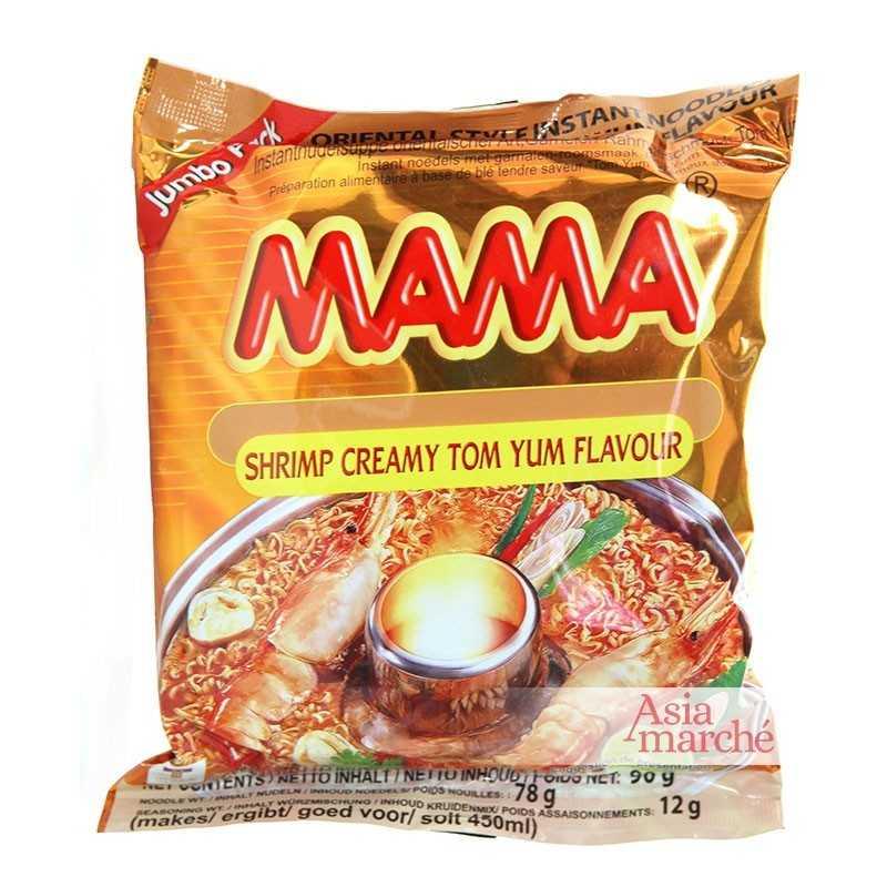 Asia Marché Soupe épicée Tom Yum Creamy XL 90g Mama À l'unité