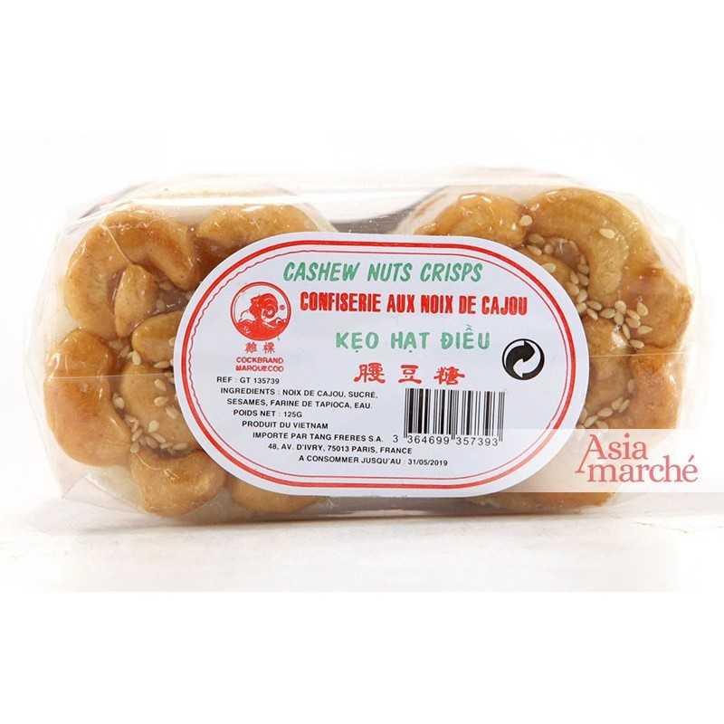 Asia Marché Nougat au noix de cajou 125g