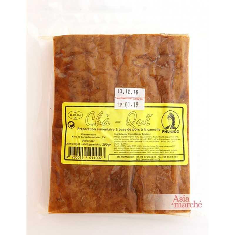 Asia Marché Cha Què, pâté de porc à la cannelle 200g
