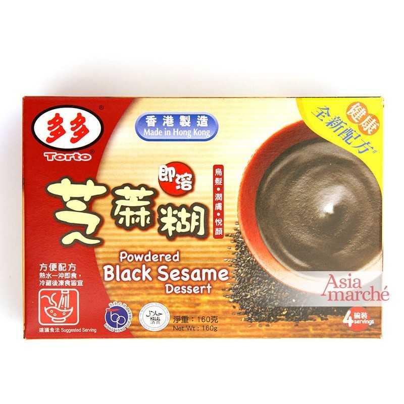 Asia Marché Crème dessert au sésame noir 160g