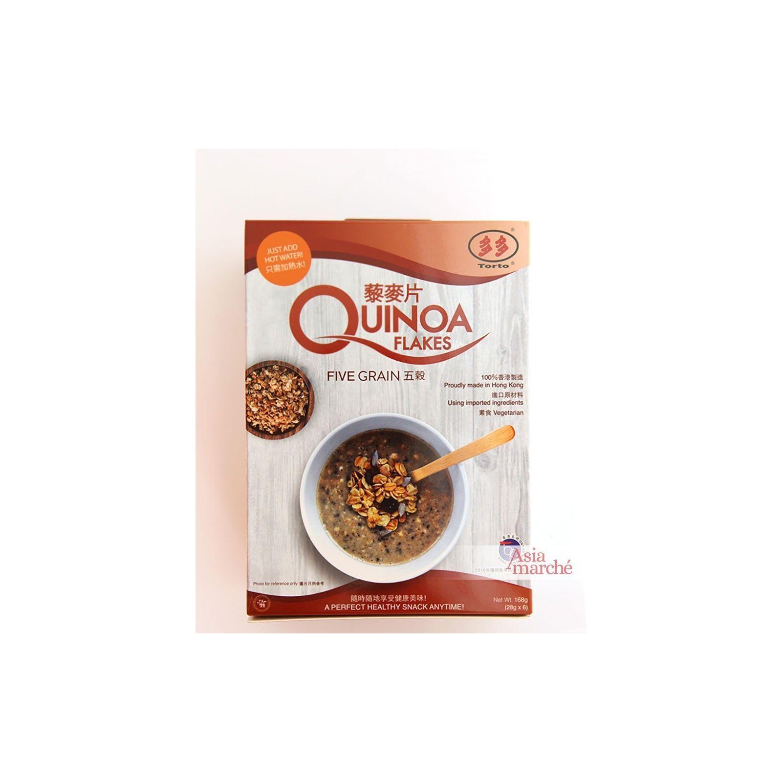 Asia Marché Porridge de Quinoa et céréales 168g