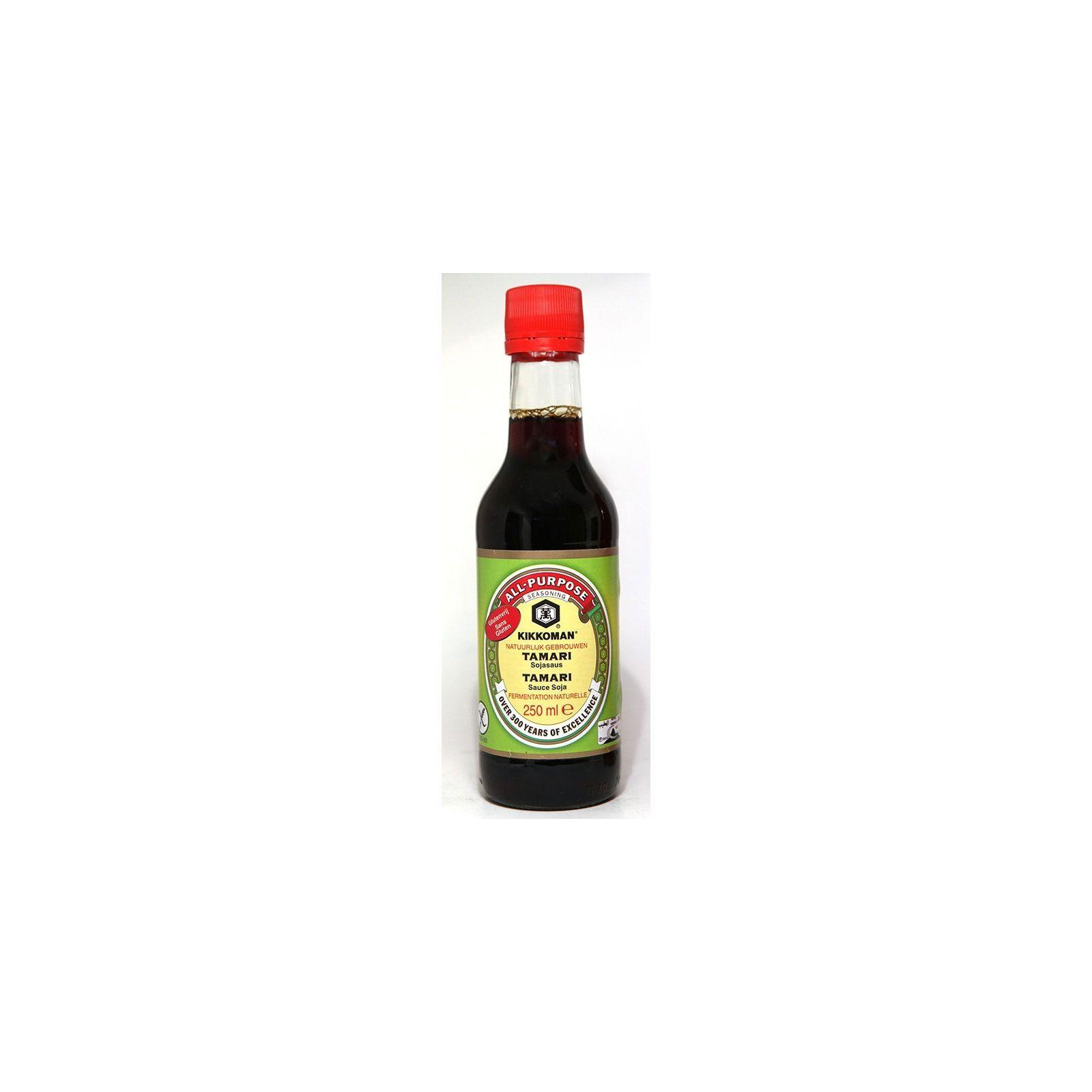 Asia Marché Sauce soja Tamari Kikkoman sans Gluten 250ml