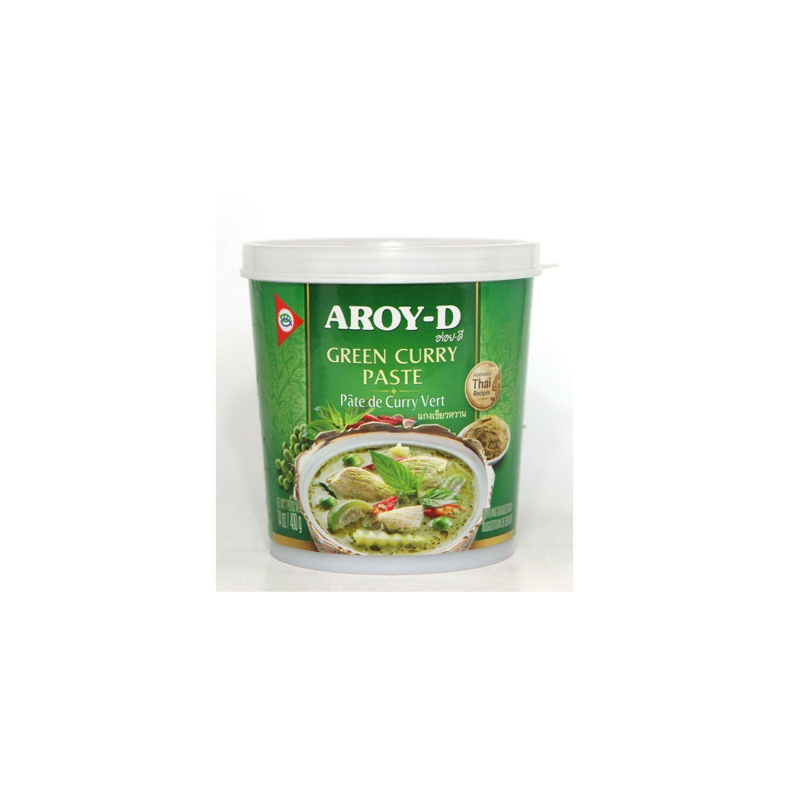Asia Marché Pâte de curry vert Thaïe 400g Aroy-D