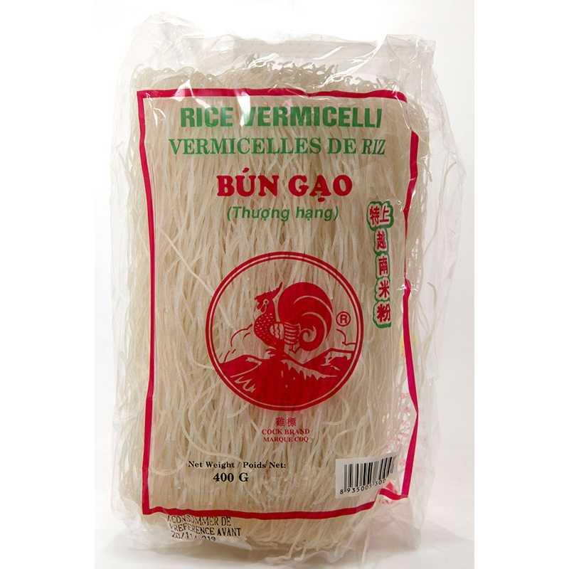 Asia Marché Vermicelles de riz Bun Gao 400g Coq