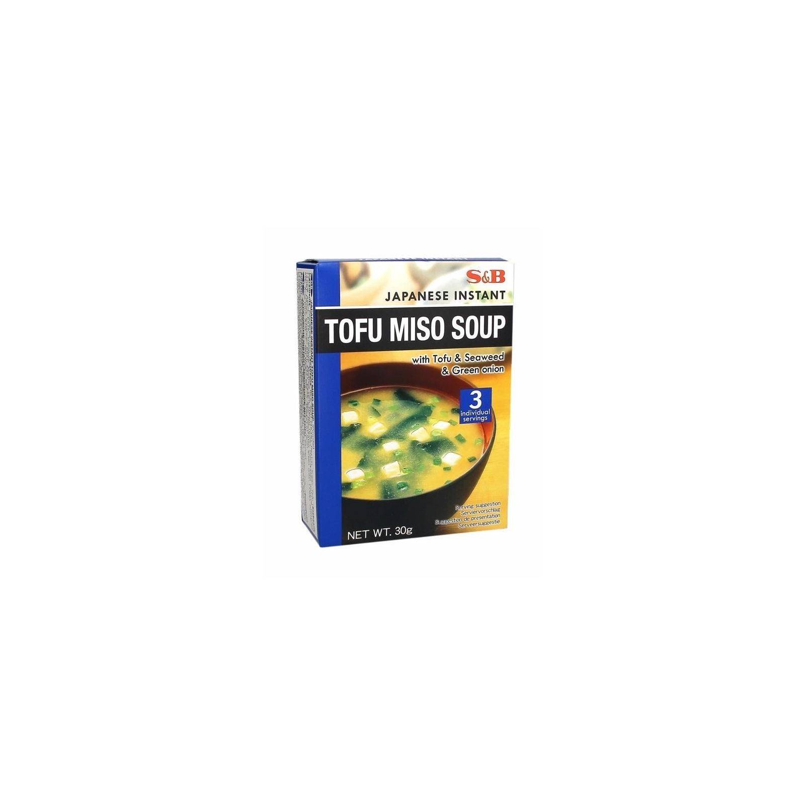 Asia Marché Soupe Miso Tofu 30g S&B