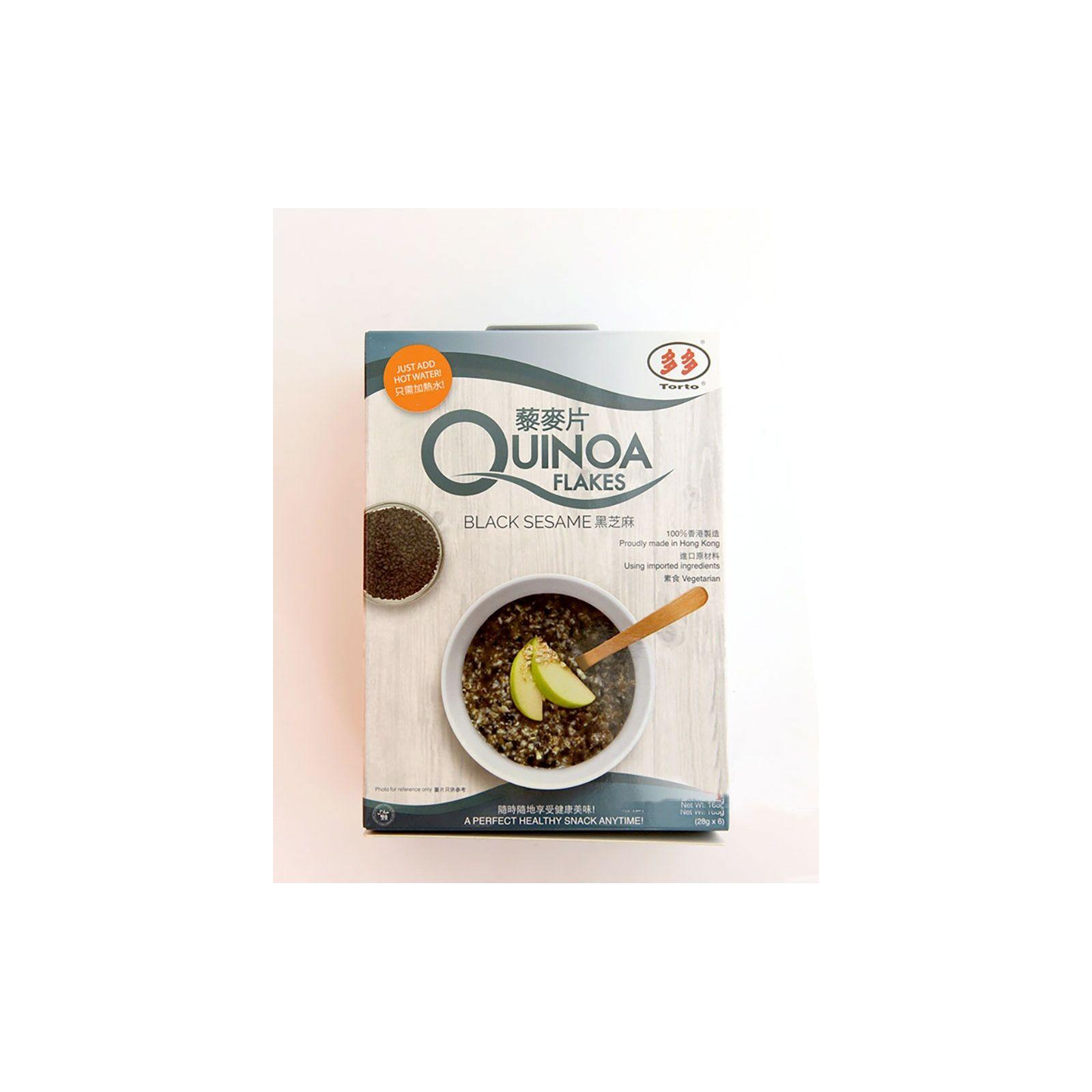 Asia Marché Porridge de Quinoa et sésame noir