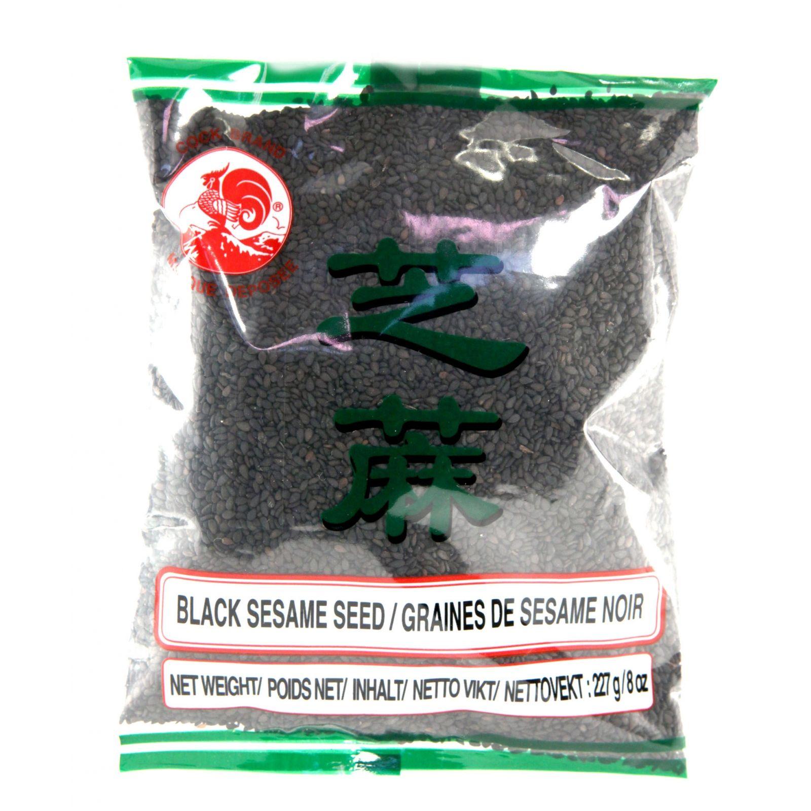Asia Marché Graines de sésame noires 227g