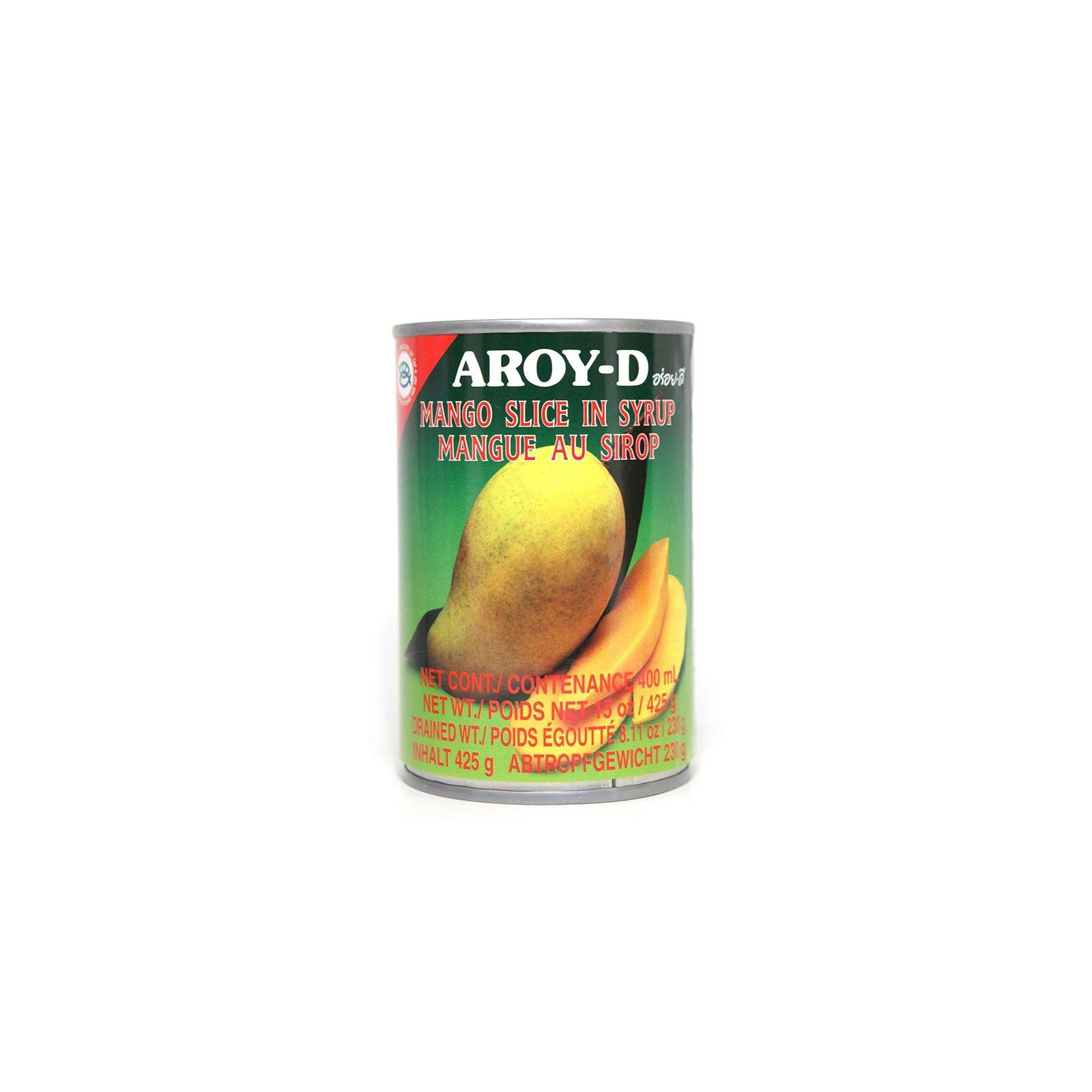 Asia Marché Mangue au sirop 425g Aroy-D