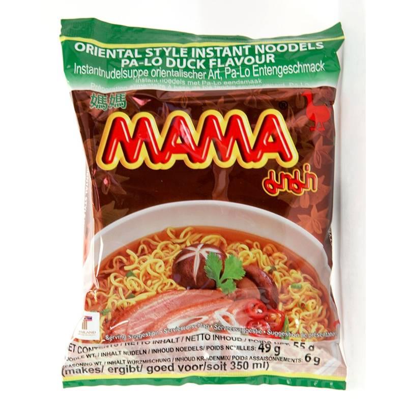 Asia Marché Soupe de nouilles au canard 55g Mama Lot de 10