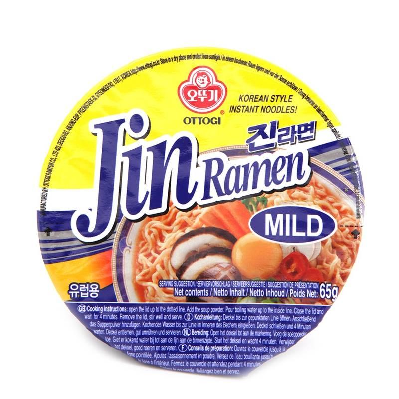 Asia Marché Soupe Jin Ramen en bol 65g Ottogi