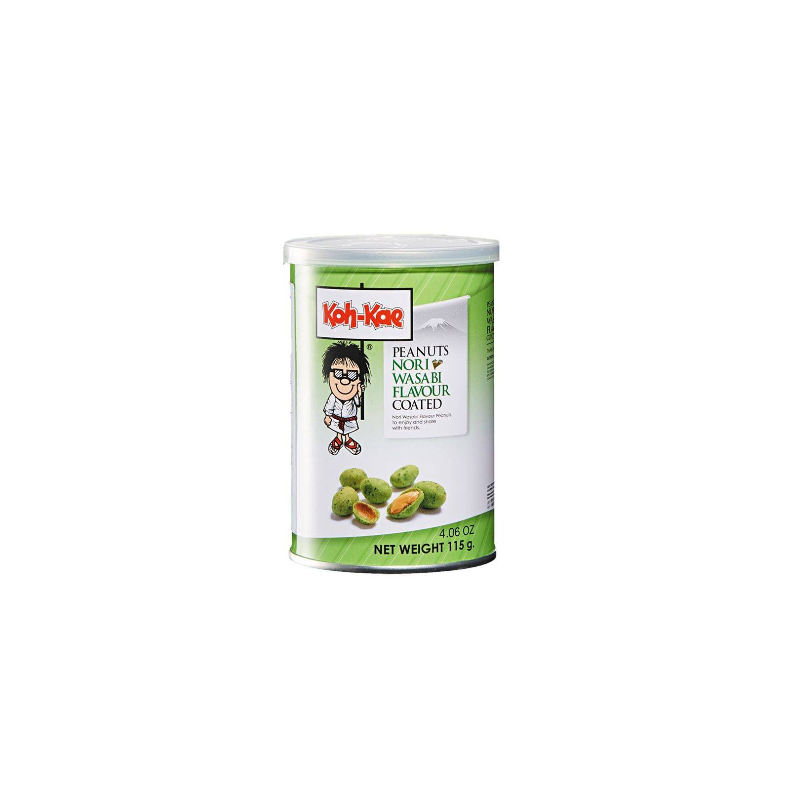 Asia Marché Cacahuètes saveur wasabi Koh Kae 105g