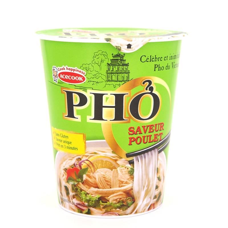 Asia Marché Soupe pho poulet en Bol 56g Oh Ricey