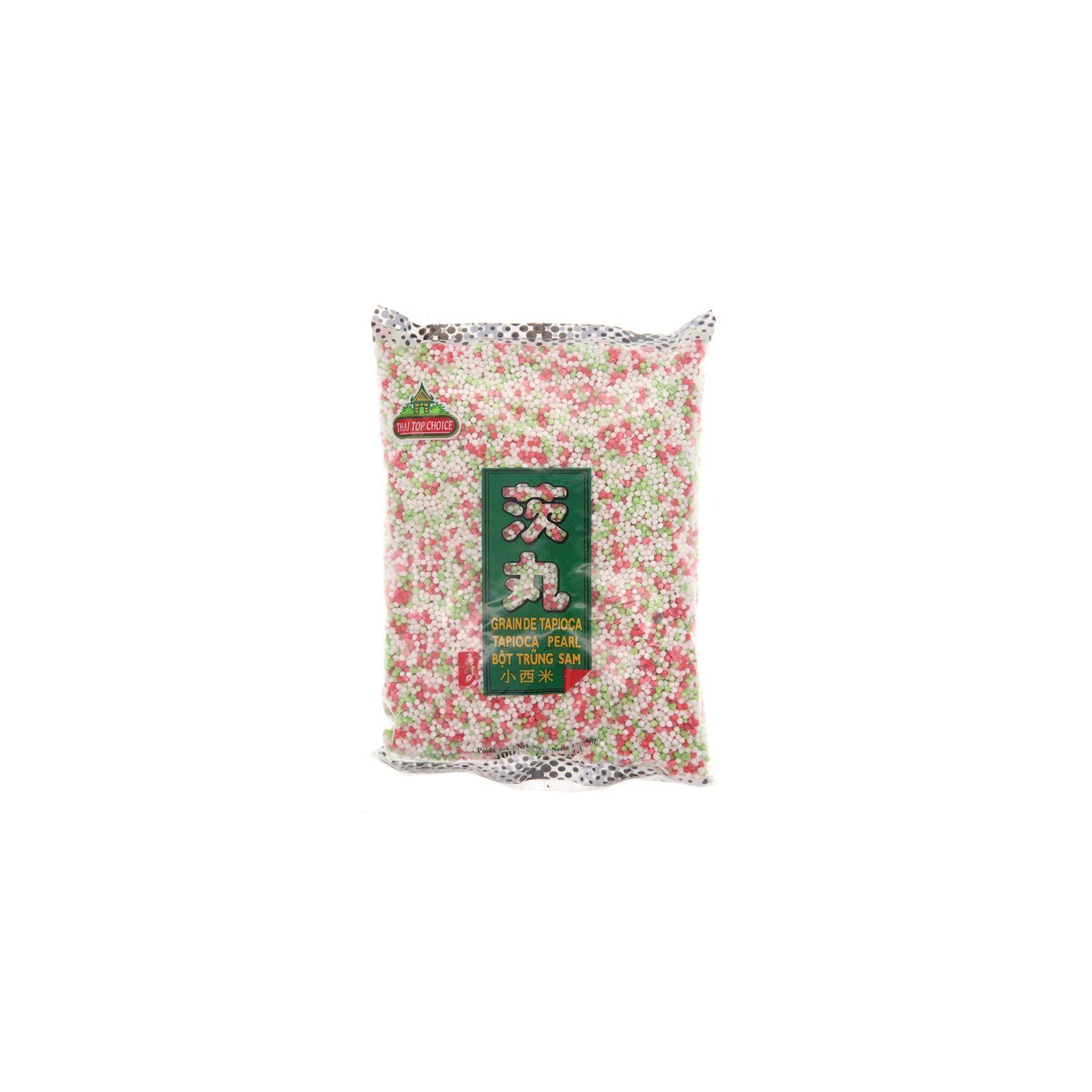 Asia Marché Billes de Tapioca, Perles du Japon colorées 400g