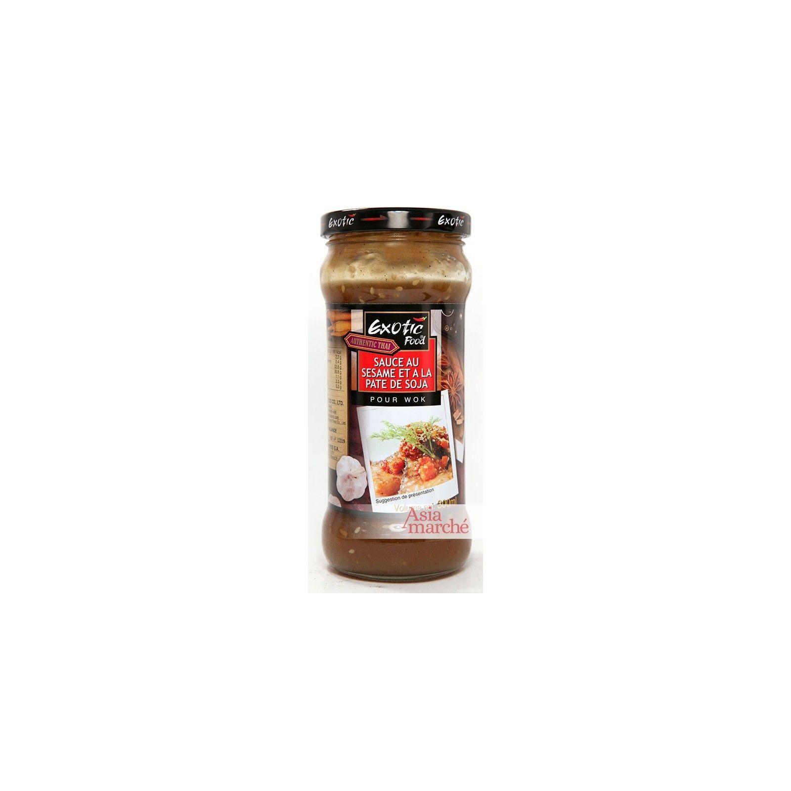 Asia Marché Sauce pour wok au sésame et à la pâte de soja 300ml Exotic Food
