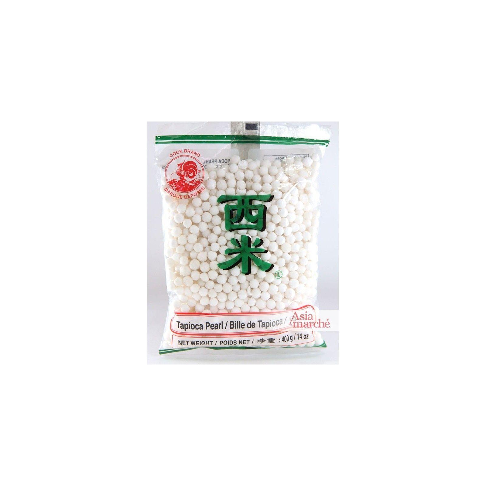 Asia Marché Grosses billes de Tapioca, Perles du Japon 400g