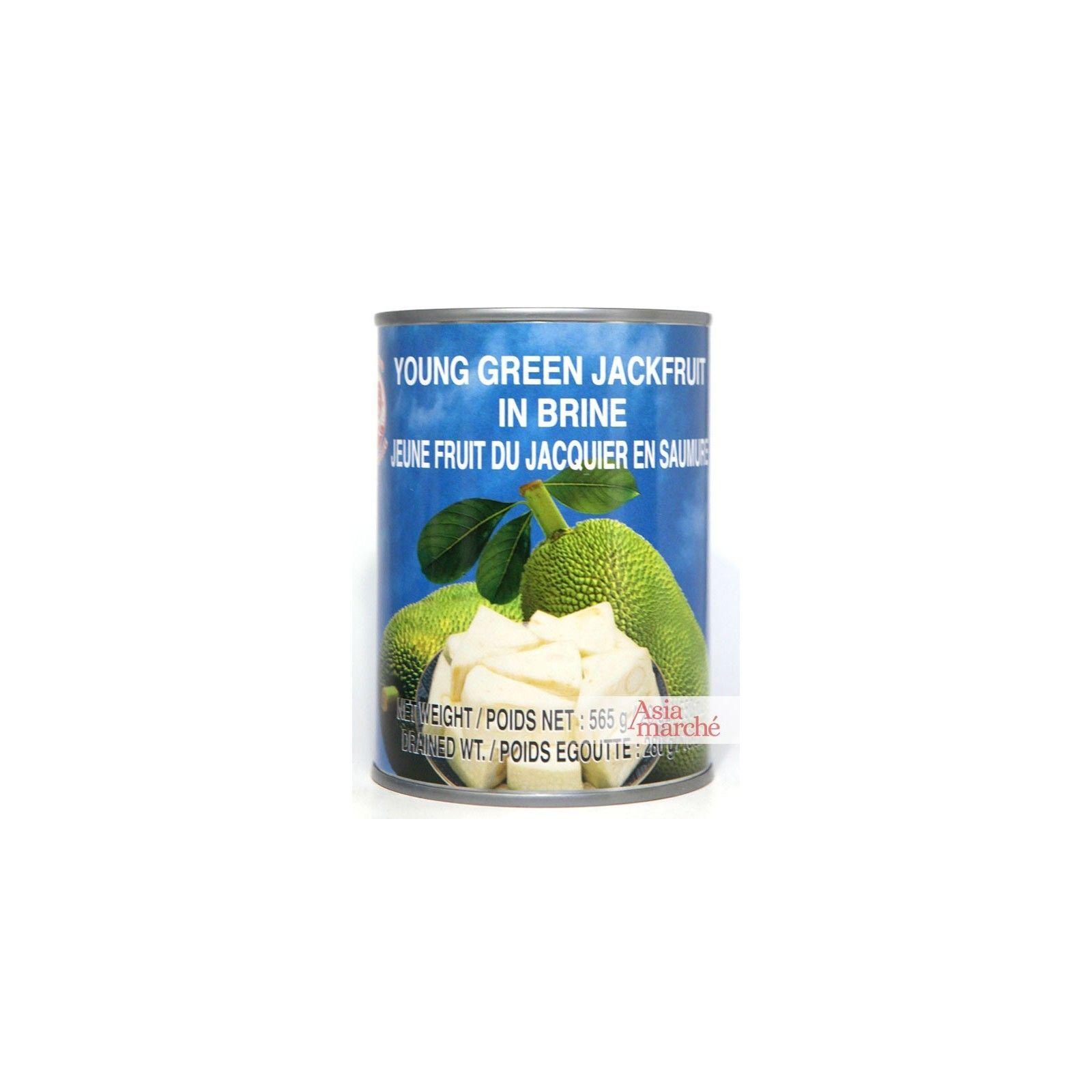Asia Marché Fruits de Jacquier verts en saumure 565g Coq
