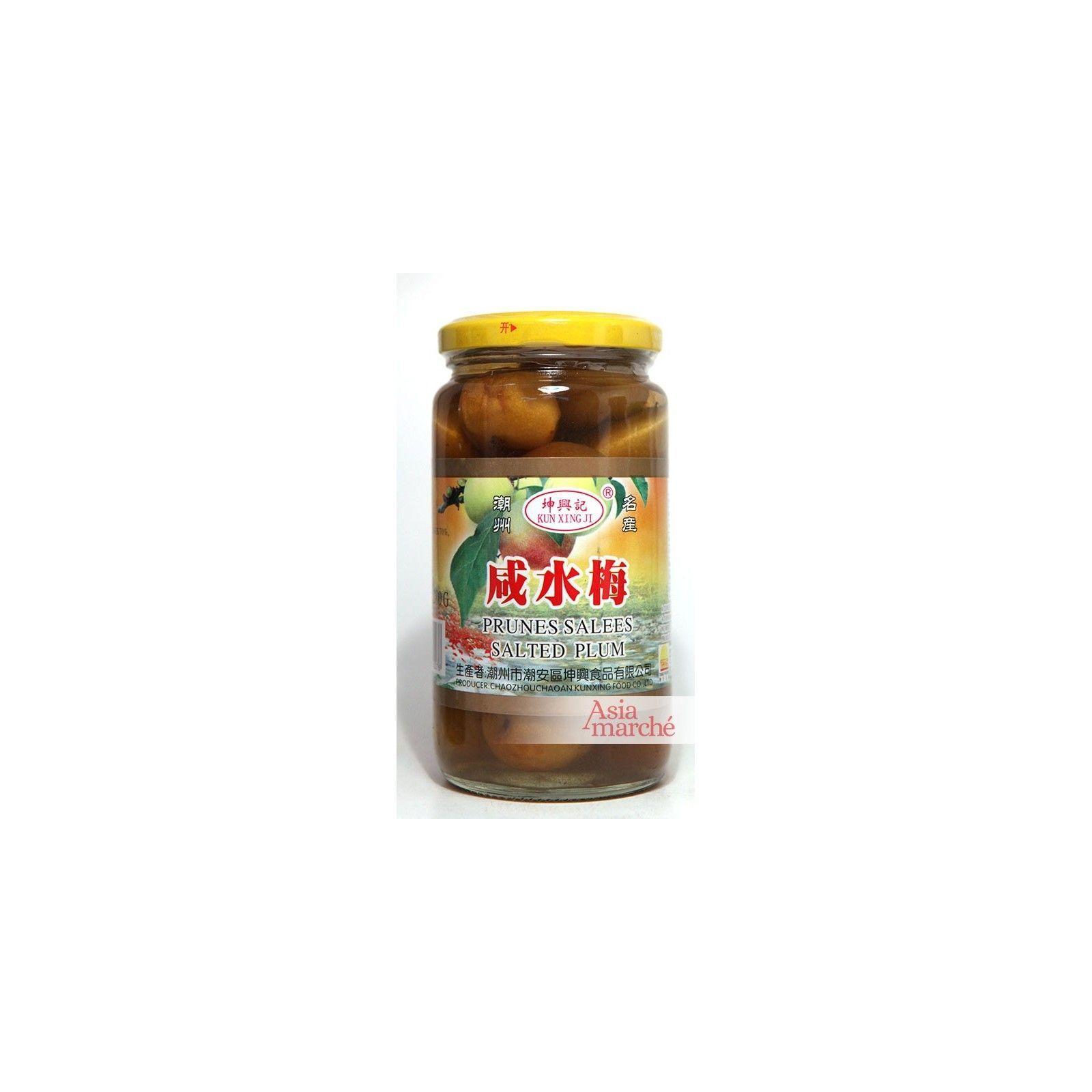Asia Marché Prunes salées en bocal 400g