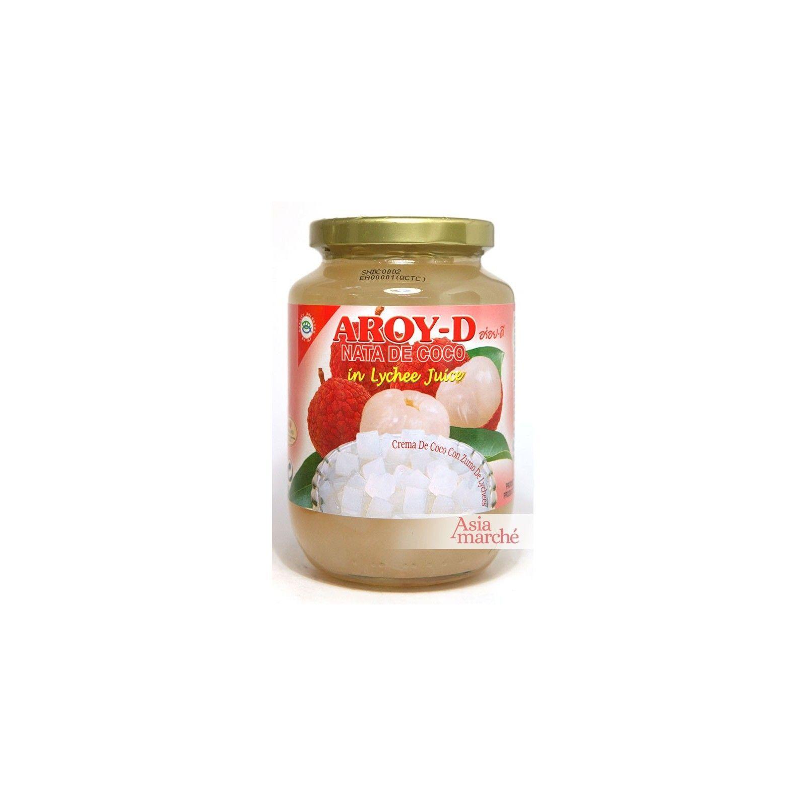 Asia Marché Nata de coco au Lychee 450g Aroy-D